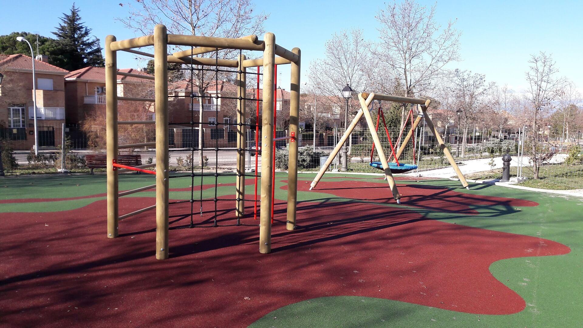 construccion de parques infantiles madrid