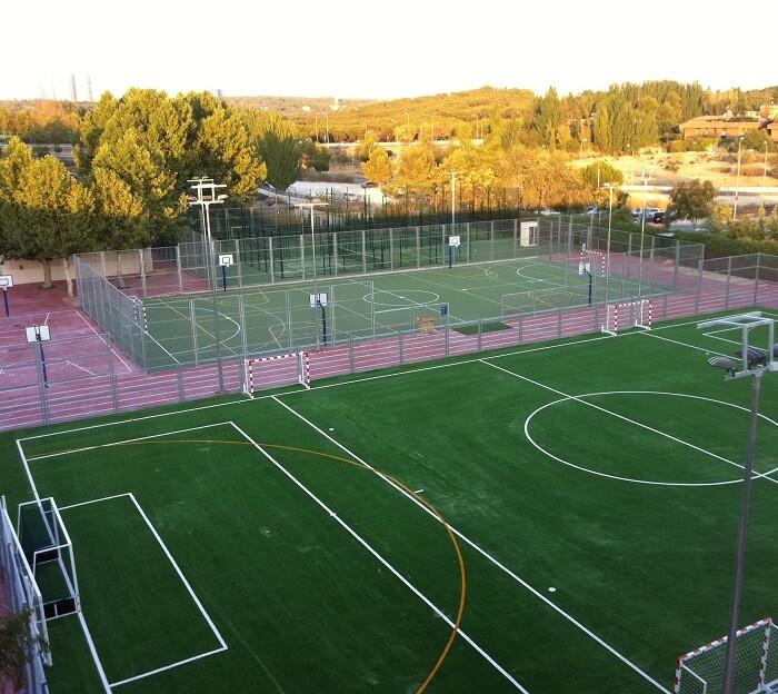 construcción de instalaciones deportivas