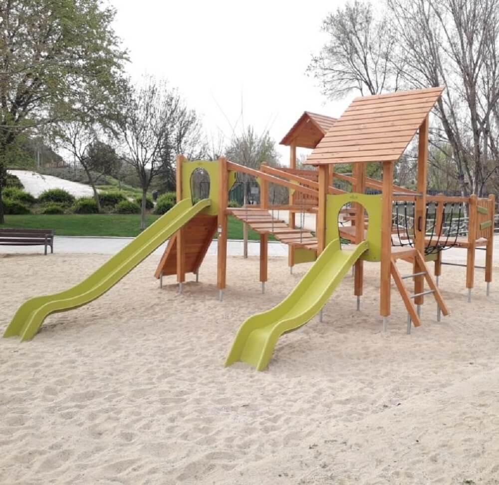 instalación de parques infantiles